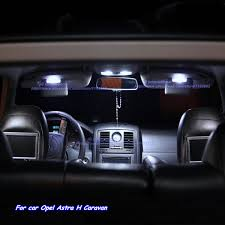 Interior Lighting For Cars Aliexpress Com Buy 7pcs Car Led Light Bulbs For Opel Astra H