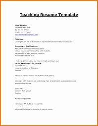 Model Resume For Teaching Job by 6 Teaching Job Cv Template Resume Holder