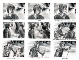 storyboard harry potter deathly hallows shanblaney