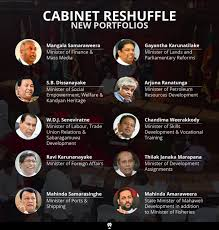 Portfolio Of Cabinet Ministers Roar Reports Cabinet Reshuffled Now What