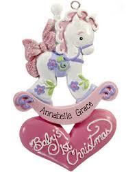 christmas ornaments for baby baby girl christmas ornaments