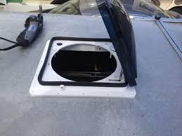Rv Bathroom Fan Blade Replacement Rv Bathroom Vent Fan And Switch 50 Cfm 120 Vac Marley Bathroom