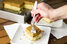caramel sheet cake chattavore