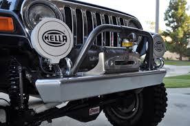 jeep front bumper tj front bumper 97 06 tj lj savvy off road clayton offroad