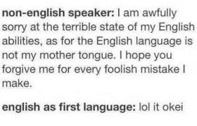 Me Me Me English - mother language memes who is participating d duolingo