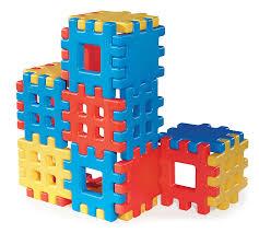 Little Tikes Toy Storage Amazon Com Big Waffle Blocks By Little Tikes 18 Large Waffle