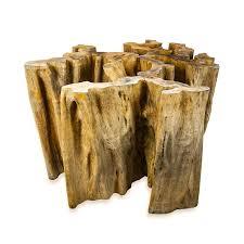 tree stump table base tree trunk table base