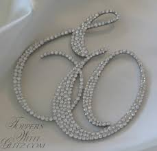 pearl cake topper monogram cake toppers pictures