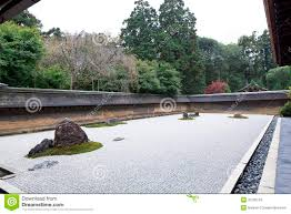 Zen Rock Garden by Zen Rock Garden In Ryoanji Temple Stock Photos Image 37236153