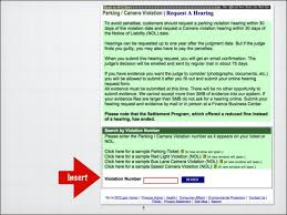 red light camera violation nyc how to fight a nyc parking ticket online updated