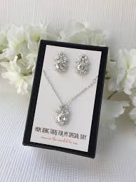 personalized wedding jewelry of the gift personalized bridal party gifts gifts