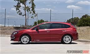 2016 subaru impreza hatchback red 2015 subaru impreza 2 0i s review video performancedrive