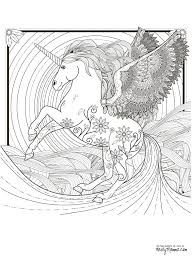 11 free printable coloring pages coloring unicorns