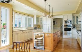 lights for island kitchen sub zero wine cooler kitchen traditional with ceiling lighting