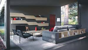 rooms decorated with gray walls living room dark wall combined