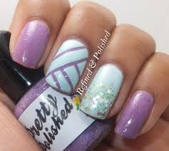 easter mani with pretty u0026 polished spring sonata collection
