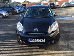 nissan micra for sale gumtree 2013 62 reg nissan micra auto 1 2 5 door black automatic in