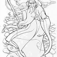 merlin wizard snow attack coloring pages bulk color
