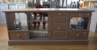 cuisine bois peint meubles cuisine bois brut dsc01909jpg meuble en bois brut