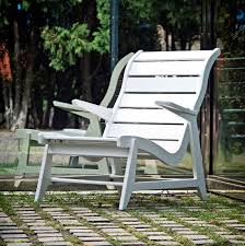 Plastic High Back Patio Chairs by Modern Resin Patio Chair Made In U S A Loll Designs