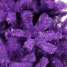 purple artificial tree