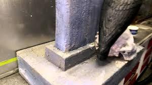 pink foam insulation tombstone halloween prop youtube