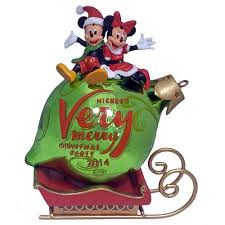 wdw store disney holiday ornament mickey u0027s merry