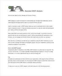 business swot analysis swot analysis template tool free online 11