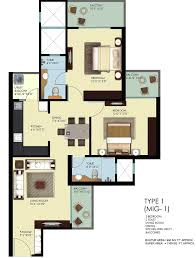 indian house plans for 1100 sq ft