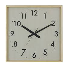 buy maple super square clock online purely wall clocks