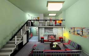 duplex home design nurani interior