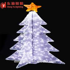 outdoor white metal lighted trees outdoor white metal