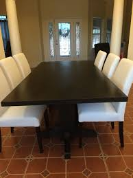 Espresso Dining Room Set by Hand Made Black Walnut Dining Table Extra Dark Espresso Stain By
