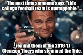 Clemson Memes - clemson wins imgflip