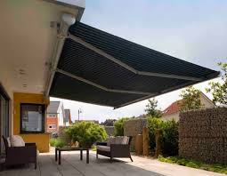 Electric Awning Irresistible Outdoor Patio Retractable Awning From French Striped