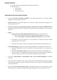 Sample Resume For Assistant Professor by Freshers Cv Format