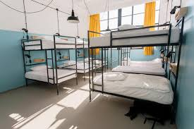 Modern Bunk Beds Backpackers Hostel With Modern Bunk Beds In Room For Twelve