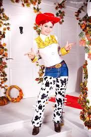 Toy Story Jessie Halloween Costume Toy Story Woody Jessie Costume Diy Costume Sewing