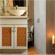 Bathroom Furniture Doors 20 Diy Cabinet Door Makeovers With Furniture Stencils Royal