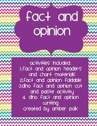 fact and opinion freebie by amber polk teachers pay teachers