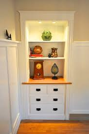 1920 S China Cabinet by A Craftsman Style Bungalow Makeover In Maine By Sopo Cottage