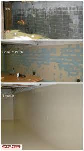 Waterproof Flooring For Basement Best 25 Basement Waterproofing Ideas On Pinterest Unfinished