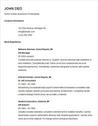 newest resume format simple resume format newest portray template basic 51 sles