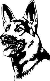 elegant german shepherd coloring page 38 on coloring pages for