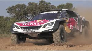peugeot america peugeot 3008dkr maxi maximum attack youtube