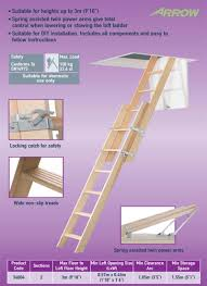abru 34004 timber sliding 2 section loft ladder this is lofts