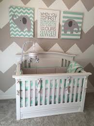 Mint Green Crib Bedding Baby Cache Harbor Crib Baby And Nursery Furnitures
