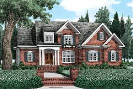 brick colonial house plans colonial house plans houseplans com
