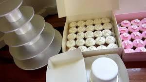 wedding cupcake tower wedding cupcake stand top cake ready to set up