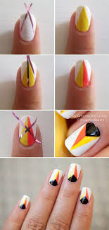 easy simple thanksgiving nails tutorials for beginners 2017